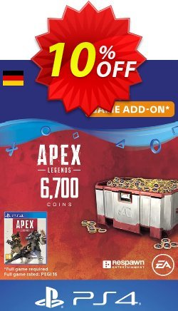 Apex Legends 6700 Coins PS4 - Germany  Coupon discount Apex Legends 6700 Coins PS4 (Germany) Deal - Apex Legends 6700 Coins PS4 (Germany) Exclusive Easter Sale offer for iVoicesoft