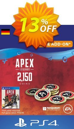 Apex Legends 2150 Coins PS4 - Germany  Coupon discount Apex Legends 2150 Coins PS4 (Germany) Deal - Apex Legends 2150 Coins PS4 (Germany) Exclusive Easter Sale offer for iVoicesoft