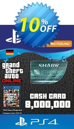 GTA Megalodon Shark Card PS4 - Germany  Coupon discount GTA Megalodon Shark Card PS4 (Germany) Deal. Promotion: GTA Megalodon Shark Card PS4 (Germany) Exclusive Easter Sale offer for iVoicesoft