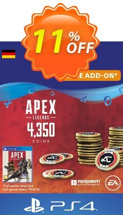 Apex Legends 4350 Coins PS4 - Germany  Coupon discount Apex Legends 4350 Coins PS4 (Germany) Deal - Apex Legends 4350 Coins PS4 (Germany) Exclusive Easter Sale offer for iVoicesoft