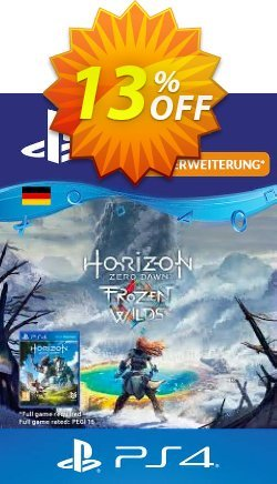 Horizon Zero Dawn Frozen Wild PS4 - Germany  Coupon discount Horizon Zero Dawn Frozen Wild PS4 (Germany) Deal. Promotion: Horizon Zero Dawn Frozen Wild PS4 (Germany) Exclusive Easter Sale offer for iVoicesoft