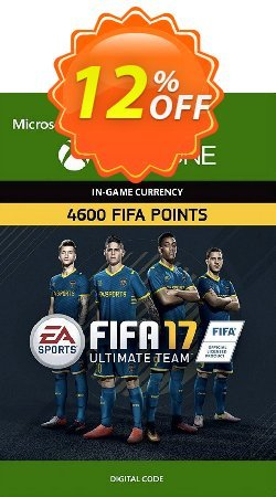 Fifa 17 - 4600 FUT Points - Xbox One  Coupon discount Fifa 17 - 4600 FUT Points (Xbox One) Deal - Fifa 17 - 4600 FUT Points (Xbox One) Exclusive Easter Sale offer for iVoicesoft