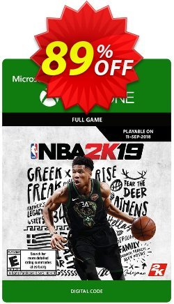 NBA 2K19 Xbox One Coupon discount NBA 2K19 Xbox One Deal - NBA 2K19 Xbox One Exclusive Easter Sale offer for iVoicesoft