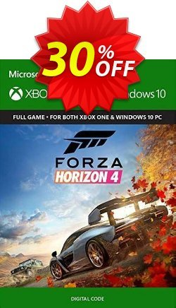 Forza Horizon 4 Xbox One/PC - UK  Coupon discount Forza Horizon 4 Xbox One/PC (UK) Deal - Forza Horizon 4 Xbox One/PC (UK) Exclusive Easter Sale offer for iVoicesoft