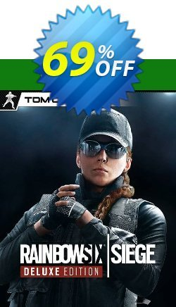 Tom Clancy's Rainbow Six Siege Deluxe Edition Xbox One UK Coupon discount Tom Clancy's Rainbow Six Siege Deluxe Edition Xbox One UK Deal. Promotion: Tom Clancy's Rainbow Six Siege Deluxe Edition Xbox One UK Exclusive Easter Sale offer for iVoicesoft