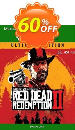 Red Dead Redemption 2: Ultimate Edtion Xbox One - UK  Coupon discount Red Dead Redemption 2: Ultimate Edtion Xbox One (UK) Deal - Red Dead Redemption 2: Ultimate Edtion Xbox One (UK) Exclusive Easter Sale offer for iVoicesoft