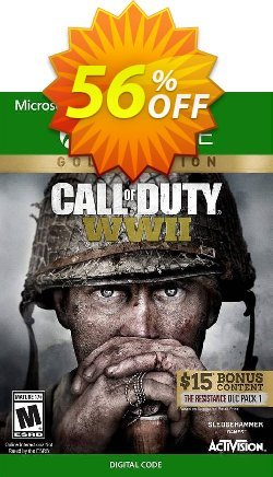 Call of Duty WWII - Gold Edition Xbox One - US  Coupon discount Call of Duty WWII - Gold Edition Xbox One (US) Deal - Call of Duty WWII - Gold Edition Xbox One (US) Exclusive Easter Sale offer for iVoicesoft