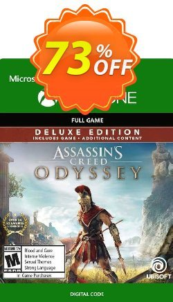 Assassin's Creed Odyssey - Deluxe Edition Xbox One Coupon discount Assassin's Creed Odyssey - Deluxe Edition Xbox One Deal - Assassin's Creed Odyssey - Deluxe Edition Xbox One Exclusive Easter Sale offer for iVoicesoft