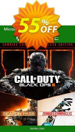 Call of Duty: Black Ops III - Zombies Deluxe Xbox One - UK  Coupon discount Call of Duty: Black Ops III - Zombies Deluxe Xbox One (UK) Deal - Call of Duty: Black Ops III - Zombies Deluxe Xbox One (UK) Exclusive Easter Sale offer for iVoicesoft