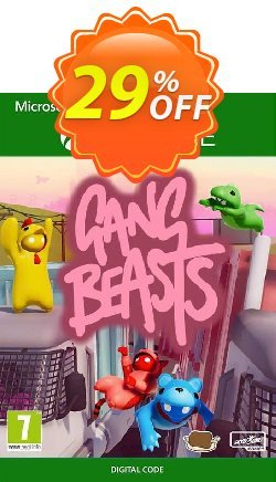 Gang Beasts Xbox One - UK  Coupon discount Gang Beasts Xbox One (UK) Deal - Gang Beasts Xbox One (UK) Exclusive Easter Sale offer for iVoicesoft