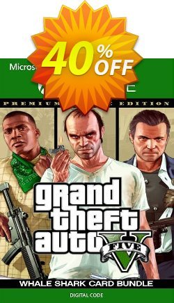 Grand Theft Auto V: Premium Online Edition & Whale Shark Card Bundle Xbox One Coupon discount Grand Theft Auto V: Premium Online Edition & Whale Shark Card Bundle Xbox One Deal - Grand Theft Auto V: Premium Online Edition & Whale Shark Card Bundle Xbox One Exclusive Easter Sale offer for iVoicesoft