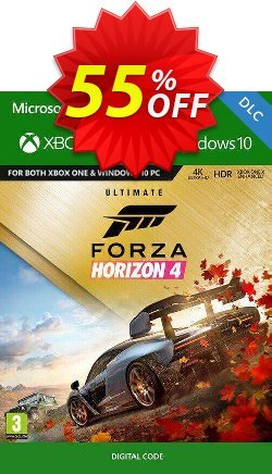 Forza Horizon 4 - Ultimate Upgrade Xbox One UK Coupon discount Forza Horizon 4 - Ultimate Upgrade Xbox One UK Deal - Forza Horizon 4 - Ultimate Upgrade Xbox One UK Exclusive Easter Sale offer for iVoicesoft
