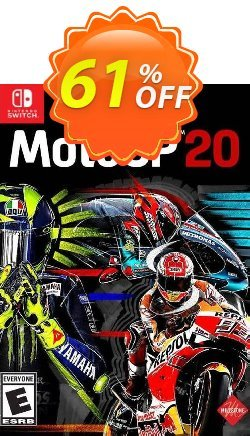 MotoGP 20 Switch - EU  Coupon discount MotoGP 20 Switch (EU) Deal - MotoGP 20 Switch (EU) Exclusive Easter Sale offer for iVoicesoft