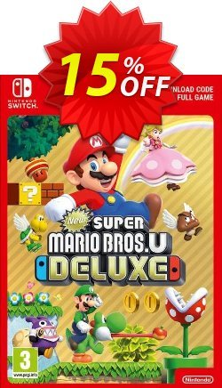 New Super Mario Bros. U - Deluxe Switch - US  Coupon discount New Super Mario Bros. U - Deluxe Switch (US) Deal - New Super Mario Bros. U - Deluxe Switch (US) Exclusive Easter Sale offer for iVoicesoft