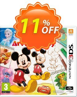 Disney Art Academy 3DS - Game Code Coupon discount Disney Art Academy 3DS - Game Code Deal - Disney Art Academy 3DS - Game Code Exclusive Easter Sale offer for iVoicesoft