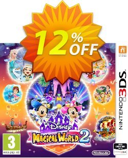 Disney Magical World 2 3DS - Game Code Coupon discount Disney Magical World 2 3DS - Game Code Deal - Disney Magical World 2 3DS - Game Code Exclusive Easter Sale offer for iVoicesoft