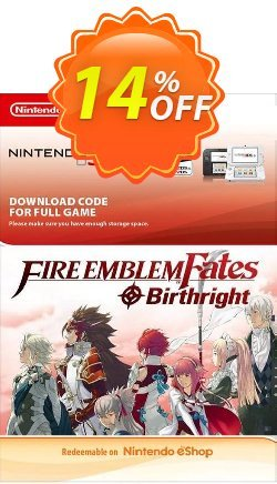 Fire Emblem Fates: Birthright 3DS Coupon discount Fire Emblem Fates: Birthright 3DS Deal - Fire Emblem Fates: Birthright 3DS Exclusive Easter Sale offer for iVoicesoft