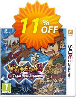 Inazuma Eleven 3 Team Ogre Attacks Game 3DS - Game Code Coupon discount Inazuma Eleven 3 Team Ogre Attacks Game 3DS - Game Code Deal. Promotion: Inazuma Eleven 3 Team Ogre Attacks Game 3DS - Game Code Exclusive Easter Sale offer for iVoicesoft