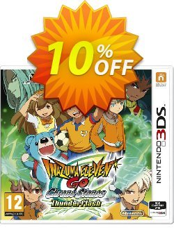 Inazuma Eleven GO Chrono Stones: Thunderflash 3DS - Game Code Coupon discount Inazuma Eleven GO Chrono Stones: Thunderflash 3DS - Game Code Deal - Inazuma Eleven GO Chrono Stones: Thunderflash 3DS - Game Code Exclusive Easter Sale offer for iVoicesoft