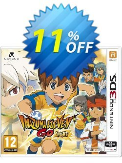 Inazuma Eleven Go: Light 3DS - Game Code Coupon discount Inazuma Eleven Go: Light 3DS - Game Code Deal - Inazuma Eleven Go: Light 3DS - Game Code Exclusive Easter Sale offer for iVoicesoft