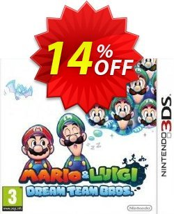Mario and Luigi: Dream Team Bros. 3DS - Game Code Coupon discount Mario and Luigi: Dream Team Bros. 3DS - Game Code Deal - Mario and Luigi: Dream Team Bros. 3DS - Game Code Exclusive Easter Sale offer for iVoicesoft
