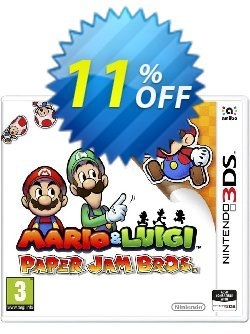 Mario and Luigi: Paper Jam Bros. 3DS - Game Code Coupon discount Mario and Luigi: Paper Jam Bros. 3DS - Game Code Deal - Mario and Luigi: Paper Jam Bros. 3DS - Game Code Exclusive Easter Sale offer for iVoicesoft