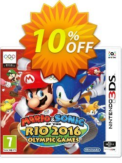 Mario and Sonic at the Rio 2016 Olympic Games 3DS - Game Code Coupon discount Mario and Sonic at the Rio 2016 Olympic Games 3DS - Game Code Deal - Mario and Sonic at the Rio 2016 Olympic Games 3DS - Game Code Exclusive Easter Sale offer for iVoicesoft