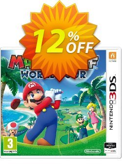 Mario Golf World Tour 3DS - Game Code Coupon discount Mario Golf World Tour 3DS - Game Code Deal. Promotion: Mario Golf World Tour 3DS - Game Code Exclusive Easter Sale offer for iVoicesoft