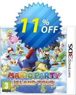 Mario Party: Island Tour 3DS - Game Code Coupon discount Mario Party: Island Tour 3DS - Game Code Deal. Promotion: Mario Party: Island Tour 3DS - Game Code Exclusive Easter Sale offer for iVoicesoft