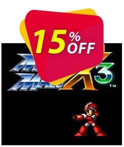Mega Man X3 3DS - Game Code - ENG  Coupon discount Mega Man X3 3DS - Game Code (ENG) Deal. Promotion: Mega Man X3 3DS - Game Code (ENG) Exclusive Easter Sale offer for iVoicesoft