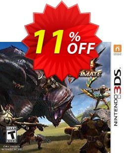Monster Hunter 4 Ultimate 3DS - Game Code Coupon discount Monster Hunter 4 Ultimate 3DS - Game Code Deal - Monster Hunter 4 Ultimate 3DS - Game Code Exclusive Easter Sale offer for iVoicesoft