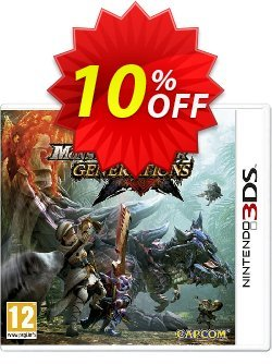 Monster Hunter Generations 3DS - Game Code Coupon discount Monster Hunter Generations 3DS - Game Code Deal - Monster Hunter Generations 3DS - Game Code Exclusive Easter Sale offer for iVoicesoft