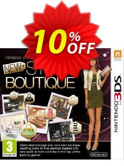 New Style Boutique 3DS - Game Code Coupon discount New Style Boutique 3DS - Game Code Deal - New Style Boutique 3DS - Game Code Exclusive Easter Sale offer for iVoicesoft