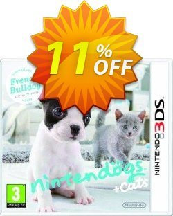 Nintendogs + Cats: French Bulldog & New Friends 3DS - Game Code Coupon discount Nintendogs + Cats: French Bulldog & New Friends 3DS - Game Code Deal - Nintendogs + Cats: French Bulldog & New Friends 3DS - Game Code Exclusive Easter Sale offer for iVoicesoft