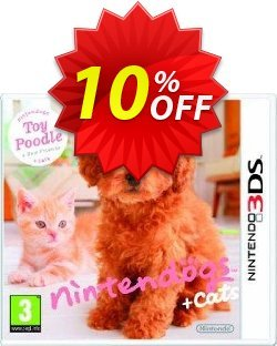 Nintendogs + Cats - Toy Poodle + New Friends 3DS - Game Code Coupon discount Nintendogs + Cats - Toy Poodle + New Friends 3DS - Game Code Deal - Nintendogs + Cats - Toy Poodle + New Friends 3DS - Game Code Exclusive Easter Sale offer for iVoicesoft