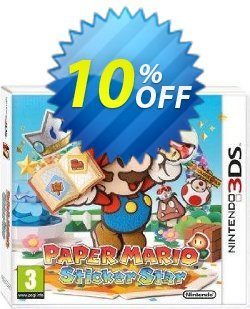 Paper Mario Sticker Star 3DS - Game Code Coupon discount Paper Mario Sticker Star 3DS - Game Code Deal - Paper Mario Sticker Star 3DS - Game Code Exclusive Easter Sale offer for iVoicesoft