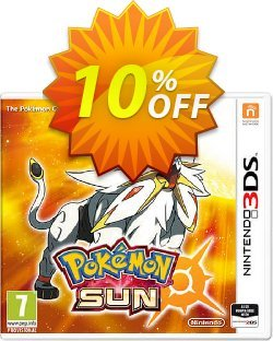 Pokemon Sun 3DS - Game Code Coupon discount Pokemon Sun 3DS - Game Code Deal - Pokemon Sun 3DS - Game Code Exclusive Easter Sale offer for iVoicesoft
