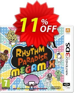 Rhythm Paradise Megamix 3DS - Game Code Coupon discount Rhythm Paradise Megamix 3DS - Game Code Deal - Rhythm Paradise Megamix 3DS - Game Code Exclusive Easter Sale offer for iVoicesoft