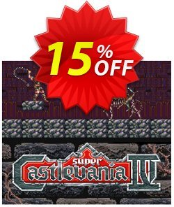 Super Castlevania IV 4 3DS - Game Code - ENG  Coupon discount Super Castlevania IV 4 3DS - Game Code (ENG) Deal. Promotion: Super Castlevania IV 4 3DS - Game Code (ENG) Exclusive Easter Sale offer for iVoicesoft
