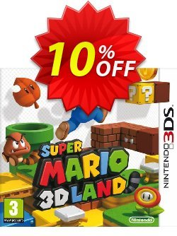 Super Mario 3D Land 3DS - Game Code Coupon discount Super Mario 3D Land 3DS - Game Code Deal - Super Mario 3D Land 3DS - Game Code Exclusive Easter Sale offer for iVoicesoft