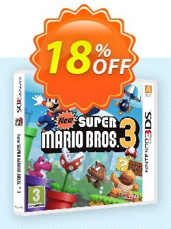 Super Mario Bros. 3 3DS - Game Code - ENG  Coupon discount Super Mario Bros. 3 3DS - Game Code (ENG) Deal - Super Mario Bros. 3 3DS - Game Code (ENG) Exclusive Easter Sale offer for iVoicesoft