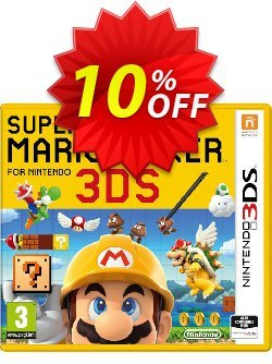 Super Mario Maker 3DS - Game Code Coupon discount Super Mario Maker 3DS - Game Code Deal - Super Mario Maker 3DS - Game Code Exclusive Easter Sale offer for iVoicesoft