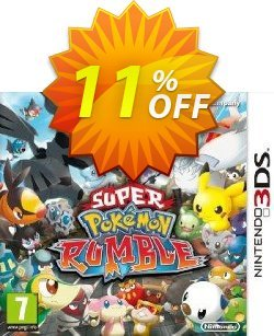 Super Pokémon Rumble 3DS - Game Code Coupon discount Super Pokémon Rumble 3DS - Game Code Deal - Super Pokémon Rumble 3DS - Game Code Exclusive Easter Sale offer for iVoicesoft
