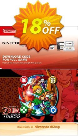 The Legend of Zelda: Oracle of Seasons 3DS Coupon discount The Legend of Zelda: Oracle of Seasons 3DS Deal - The Legend of Zelda: Oracle of Seasons 3DS Exclusive Easter Sale offer for iVoicesoft