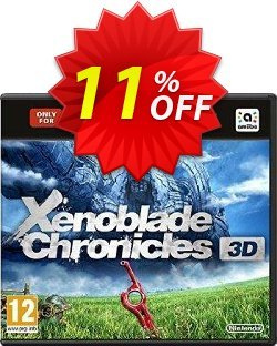 Xenoblade Chronicles New 3DS XL Only Coupon discount Xenoblade Chronicles New 3DS XL Only Deal. Promotion: Xenoblade Chronicles New 3DS XL Only Exclusive Easter Sale offer for iVoicesoft