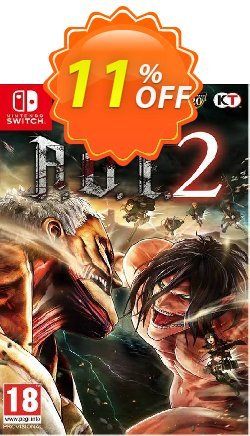 A.O.T. 2 Final Battle Switch Coupon discount A.O.T. 2 Final Battle Switch Deal. Promotion: A.O.T. 2 Final Battle Switch Exclusive Easter Sale offer for iVoicesoft