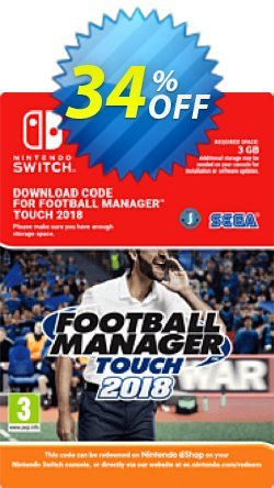 Football Manager - FM Touch 2018 Switch - EU  Coupon discount Football Manager (FM) Touch 2018 Switch (EU) Deal - Football Manager (FM) Touch 2018 Switch (EU) Exclusive Easter Sale offer for iVoicesoft