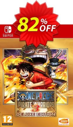 One Piece Pirate Warriors 3 - Deluxe Edition Switch - EU  Coupon discount One Piece Pirate Warriors 3 - Deluxe Edition Switch (EU) Deal - One Piece Pirate Warriors 3 - Deluxe Edition Switch (EU) Exclusive Easter Sale offer for iVoicesoft