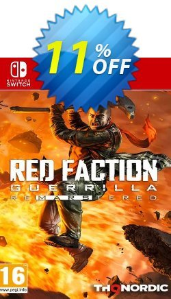 Red Faction Guerrilla Re-Mars-Tered Switch Coupon discount Red Faction Guerrilla Re-Mars-Tered Switch Deal - Red Faction Guerrilla Re-Mars-Tered Switch Exclusive Easter Sale offer for iVoicesoft