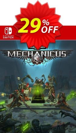 Warhammer 40,000: Mechanicus Switch - EU  Coupon discount Warhammer 40,000: Mechanicus Switch (EU) Deal - Warhammer 40,000: Mechanicus Switch (EU) Exclusive Easter Sale offer for iVoicesoft
